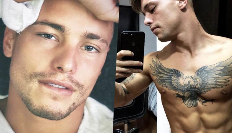 Leo Parraguez gay porno nudo.